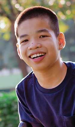 young boy in autism treatment program Atlanta